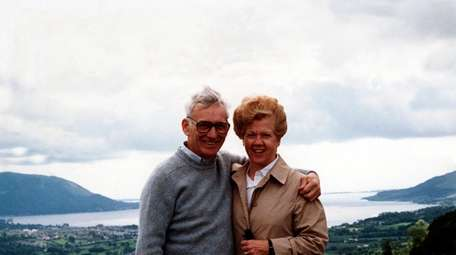 Pittsburgh Steelers owner Dan Rooney and wife, Patricia.