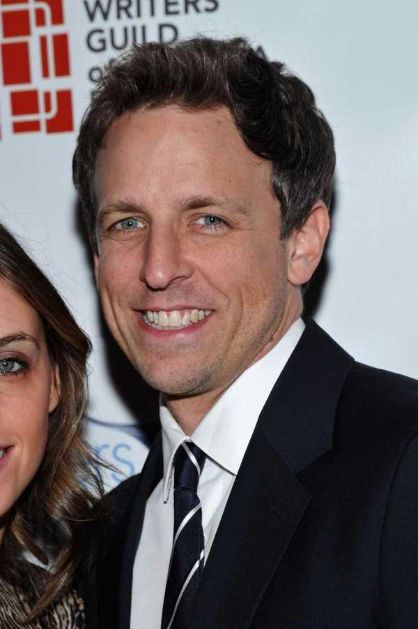 Actor Seth Meyers attends the 2012 Writers Guild