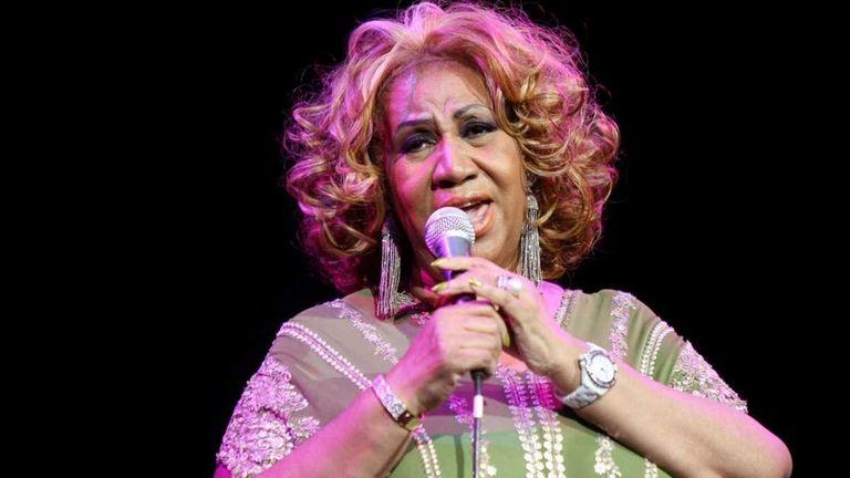 Aretha Franklin performs at Radio City Music Hall