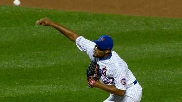 Jeurys Familia, shown here pitching Aug. 22, 2019,