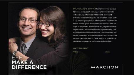 Garden City eye surgeon, Dr. Gerard D'Aversa, and