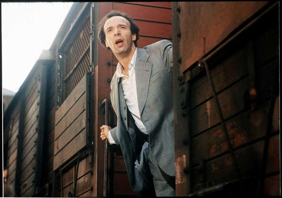 Roberto Benigni in a scene from the film