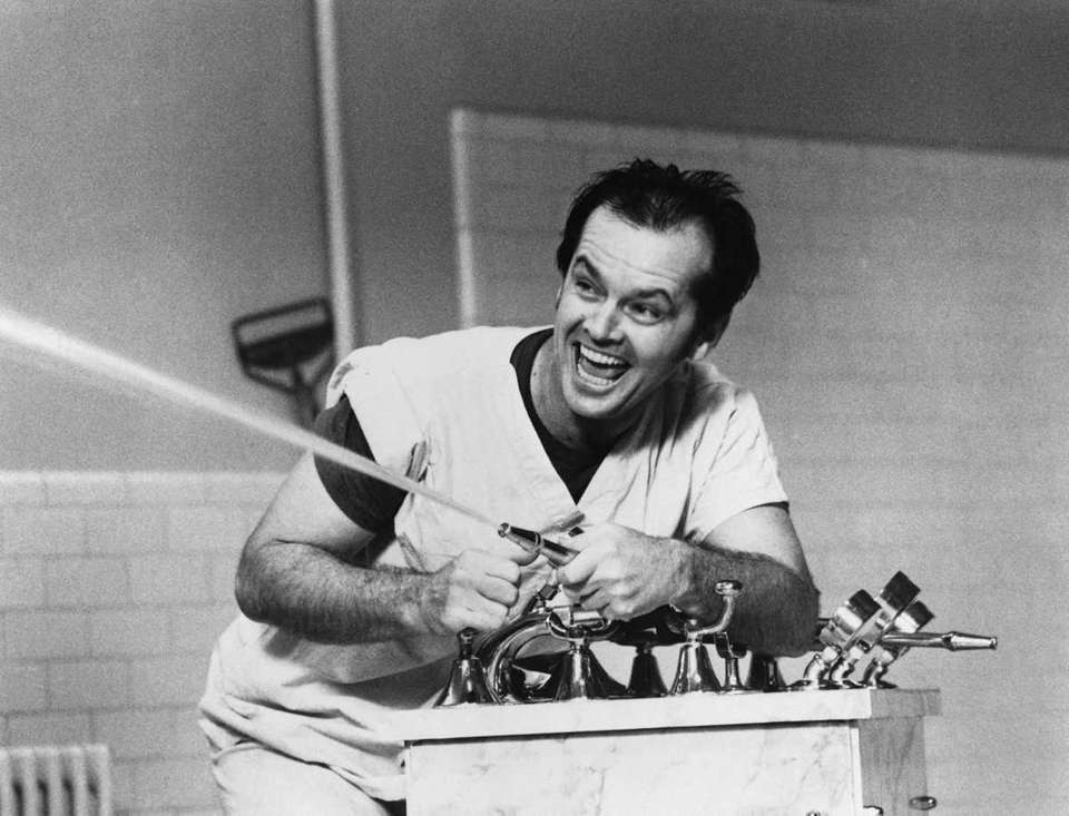 Jack Nicholson, shown in a scene from the