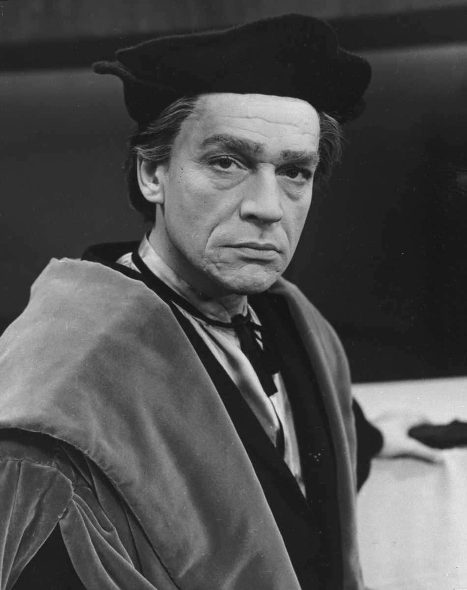 Paul Scofield, in a scene from the the