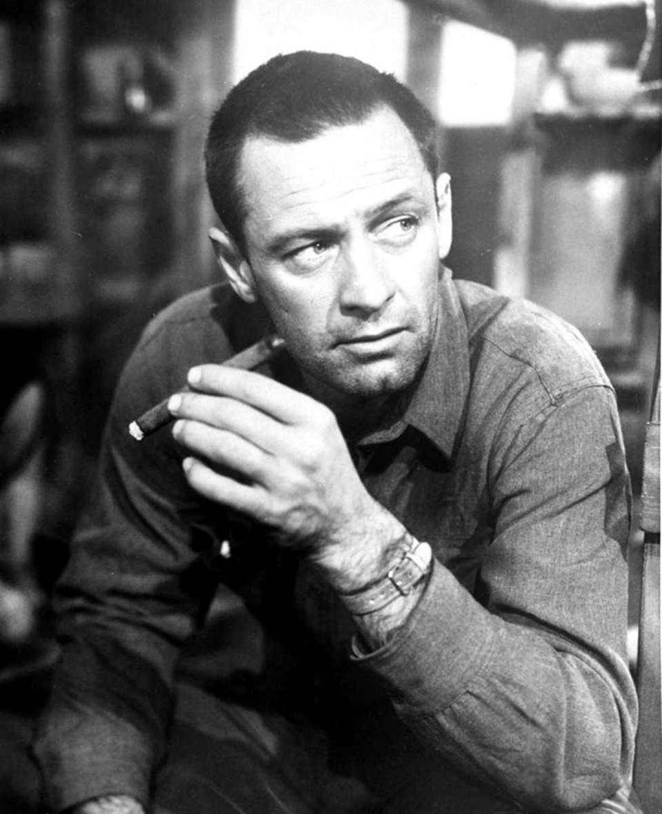 William Holden, in a scene from the 1953