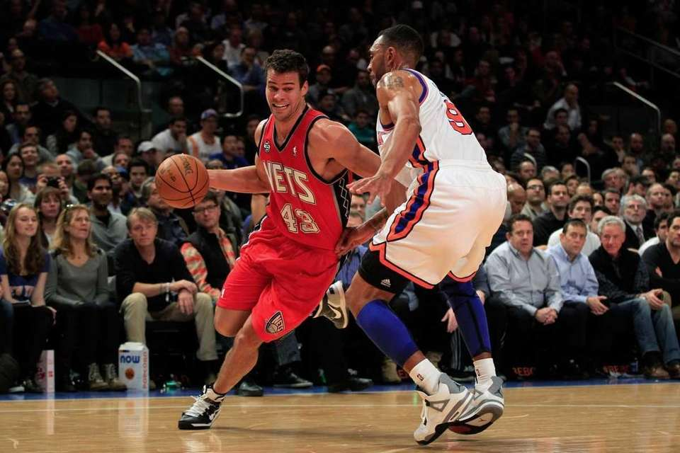 Kris Humphries #43 of the New Jersey Nets