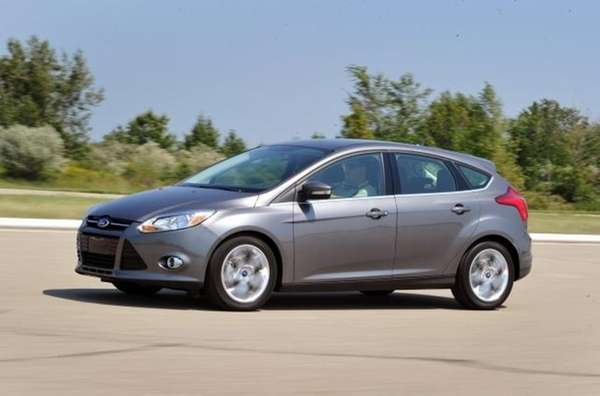 2012 Ford Focus.
