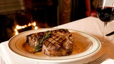 The Porterhouse steak for two at George Martin's
