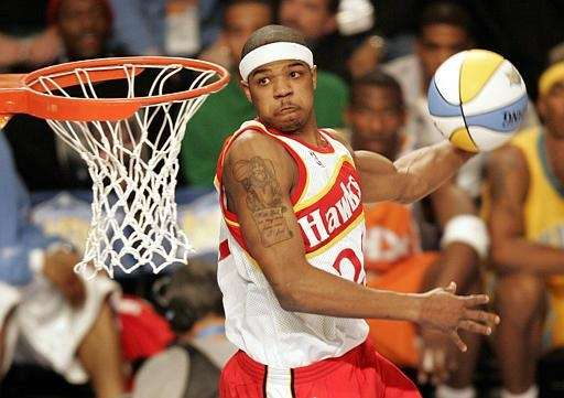 JOSH SMITH, ATLANTA HAWKS Dunk contests won: 2005