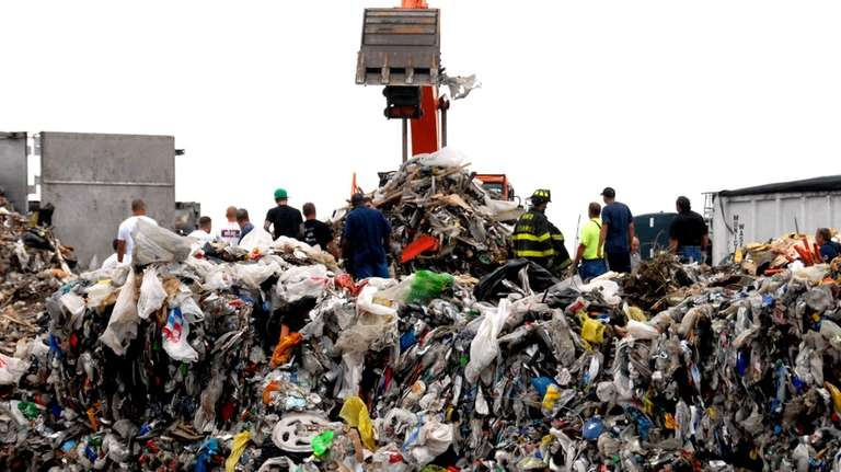 The Brookhaven Town landfill is on Horseblock Road