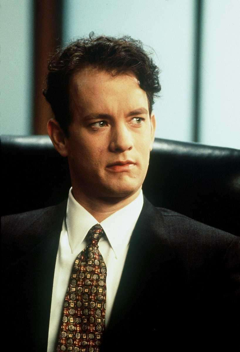 Tom Hanks, in a scene from the 1993
