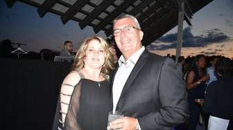 Deana and William Wilson at the Prostate Cancer
