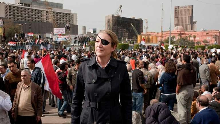 War reporter Marie Colvin, who was from East