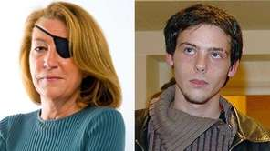 East Norwich native Marie Colvin, left, and French