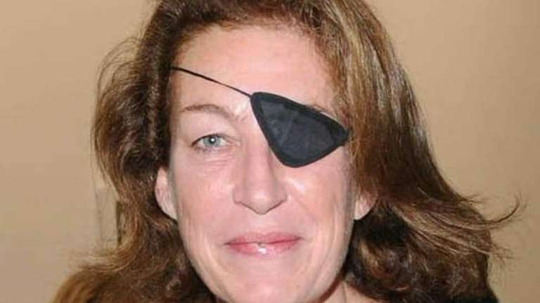A file photo of journalist Marie Colvin in