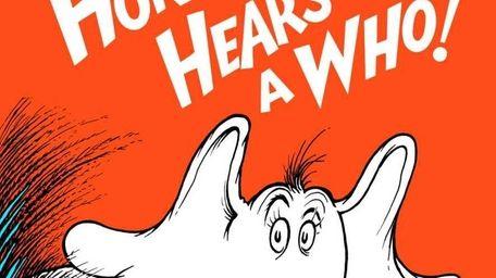 Horton, the lovable elephant, tries to protect tiny