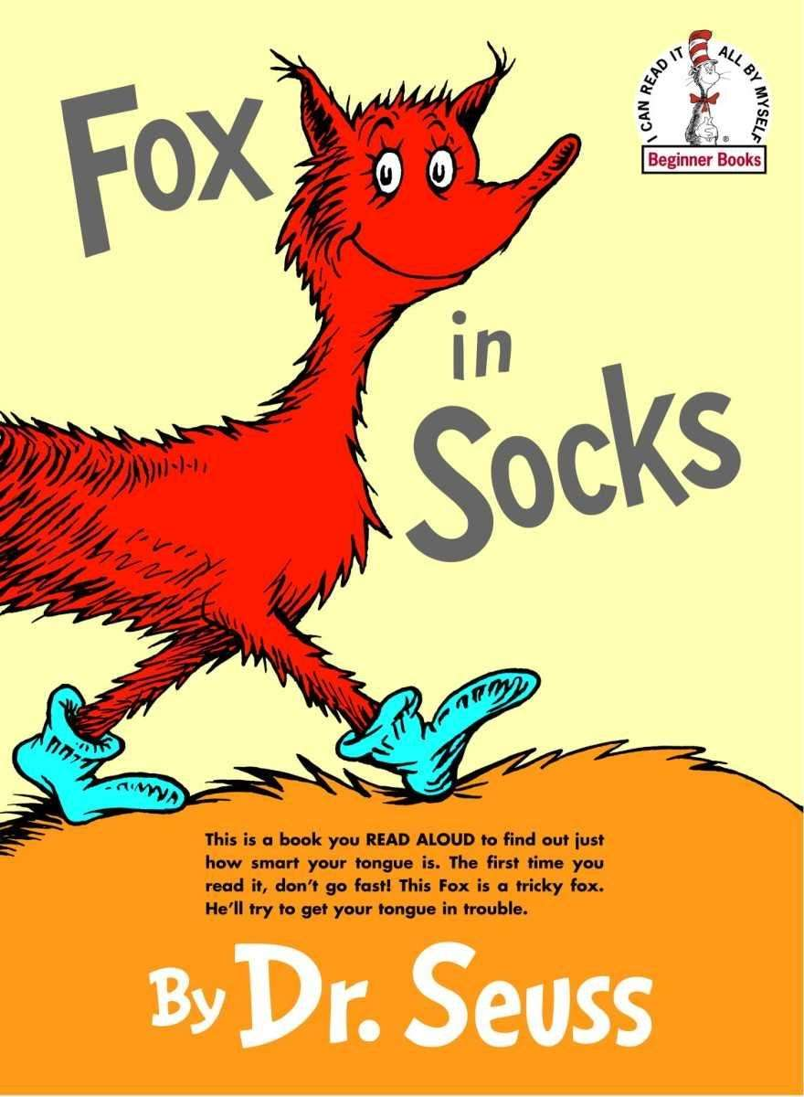 Fox in Socks introduces Mr. Knox to some