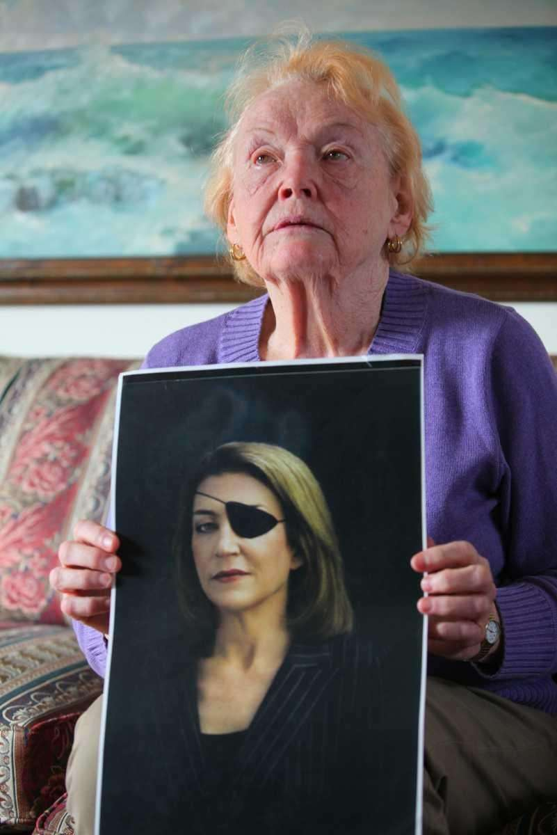Rosemarie Colvin, mother of journalist Marie Colvin, speaks