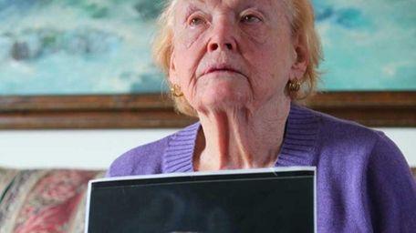 Rosemarie Colvin, mother of journalist Marie Colvin, speaks