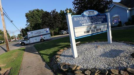 The Riverhead Ambulance Volunteer Corps on Osborne Avenue