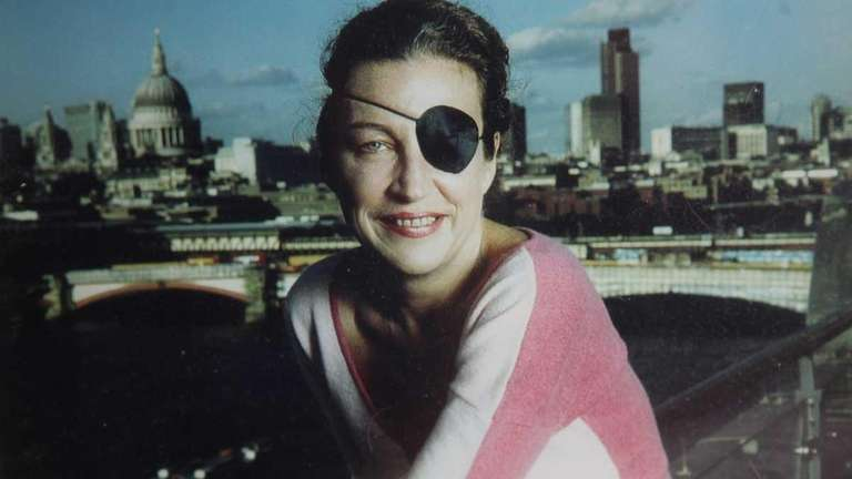 Undated family photo of journalist Marie Colvin who