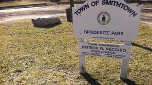 Brooksite Park is a small, grassy area at