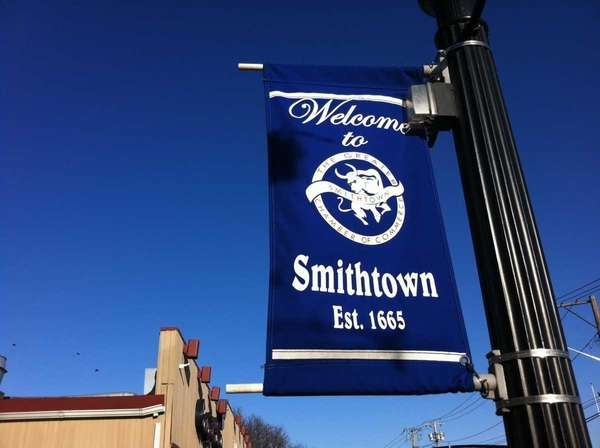 Main Street in Smithtown on Feb. 20, 2012.