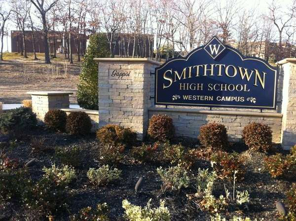 A file photo of the entrance to Smithtown