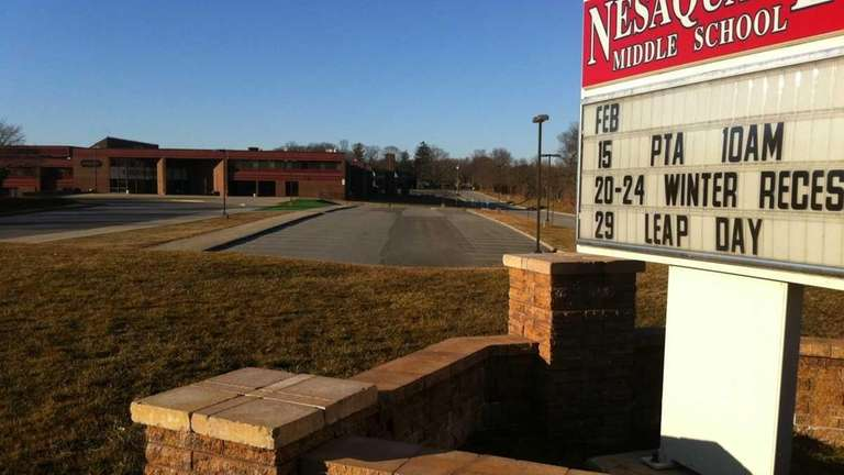 Nesaquake Middle School is one of three middle