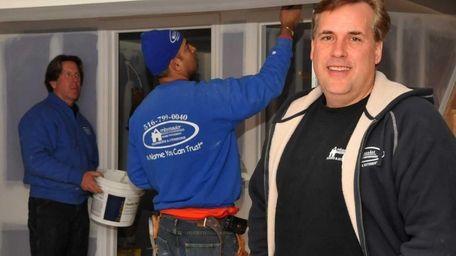 Gary Zaccaro, a contractor with Ambassador Home Improvement,