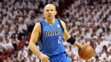 Jason Kidd #2 of the Dallas Mavericks. (Getty