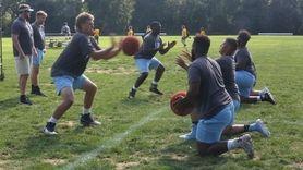On Thursday, Aug. 22, LIU football players and