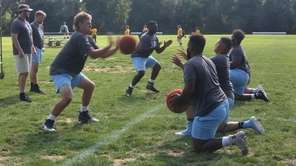 On Thursday, Aug. 22, LIU football players and