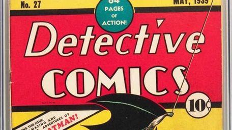 A copy of Detective Comics No. 27, which