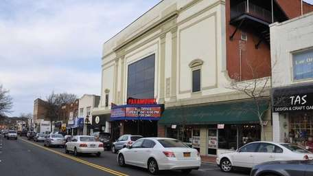 The Paramount concert hall on New York Ave