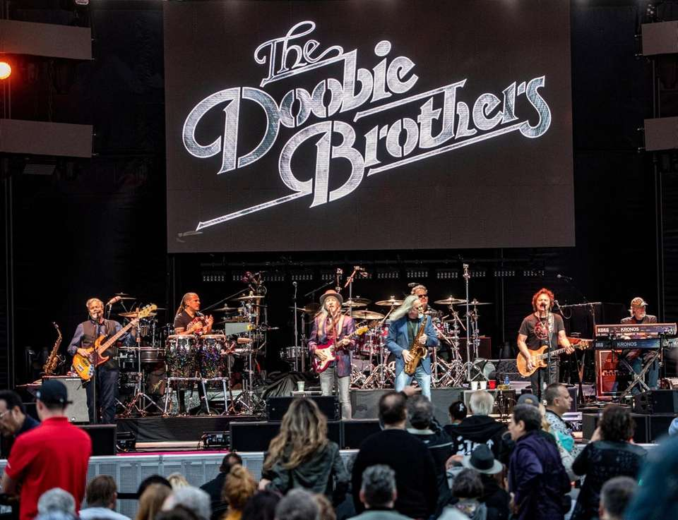 Doobie Brothers performing at the Northwell Theater Jones