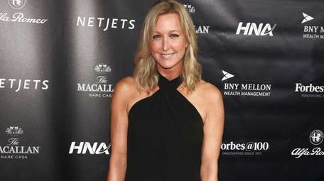 Lara Spencer attends the Forbes 100th Anniversary Gala