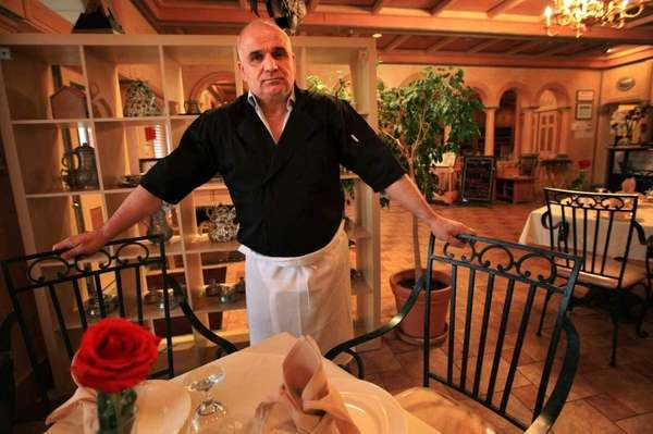 Joff Cafer Sahin, owner of Pita House restaurants