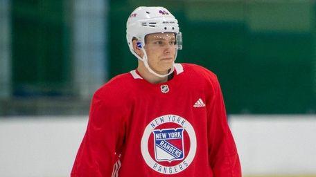 Rangers draft pick Kaapo Kakko at the team's