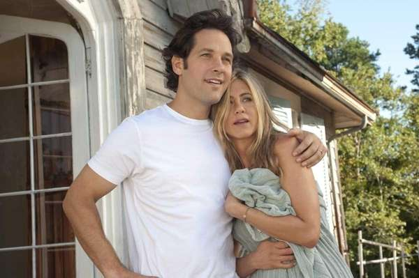Paul Rudd and Jennifer Aniston in