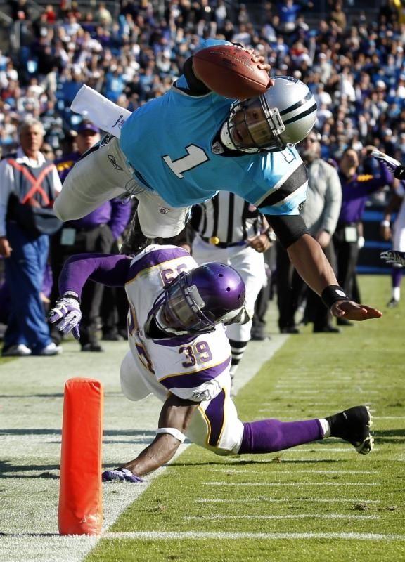 2011: CAM NEWTON, QB, Carolina Panthers Newton's rookie