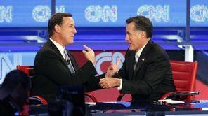 Republican presidential candidates, former Pennsylvania Sen. Rick Santorum,