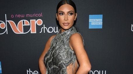 "Kim Kardashian West at ""The Cher Show"" Broadway"