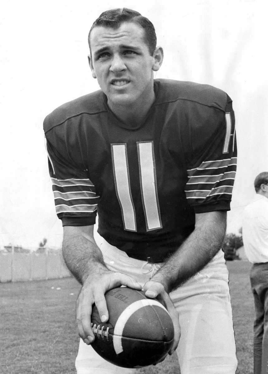 1964: JACK CONCANNON, QB, Boston Patriots (AFL) Selected