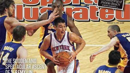 Jeremy Lin Sports Illustrated Cover for Feb. 20,