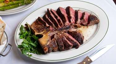 The Porterhouse steak for two is among the
