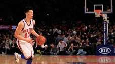Jeremy Lin #17 of the New York Knicks.