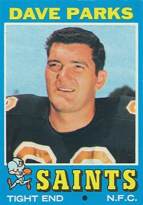 1964: DAVE PARKS, WR, San Francisco 49ers (NFL)