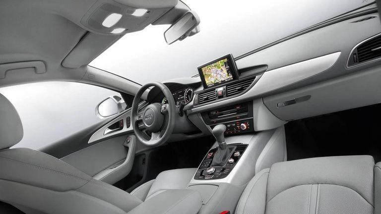 2012 Audi A6 interior.