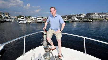 Capt. Tom McCarthy, 32, owner of the six-passenger